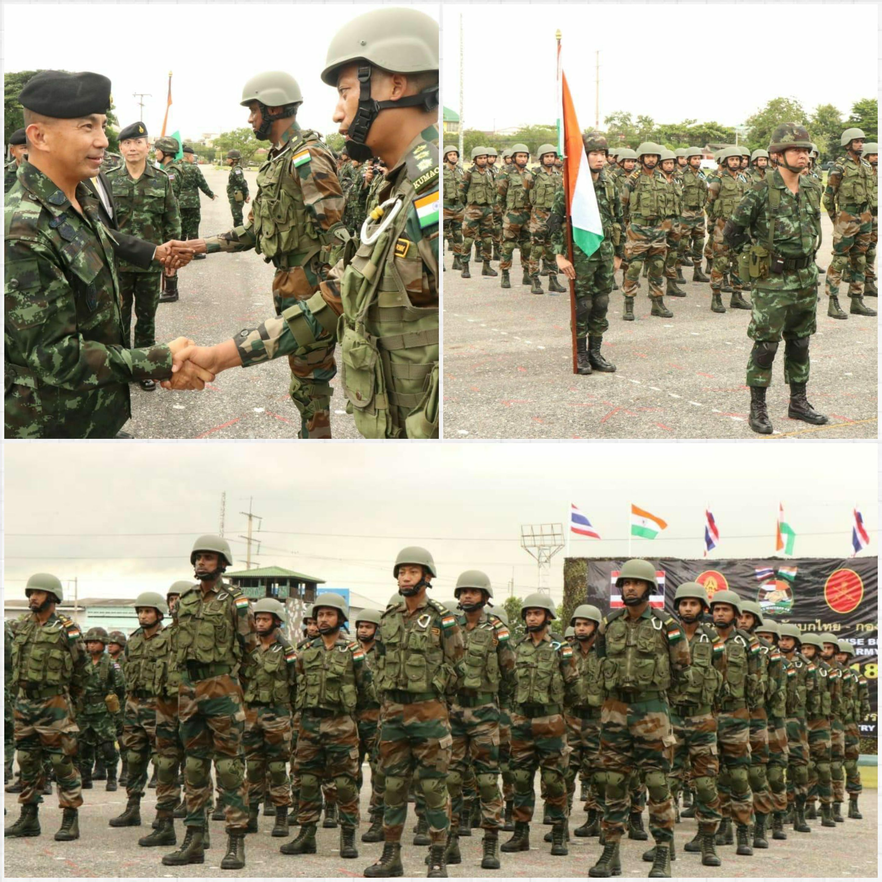 ABD NEWS 24x7 Exercise Maitree Is A Joint Military Between Indian Army And Royal Thai Which Will Be Conducted From 06 To 19 August 2018 In