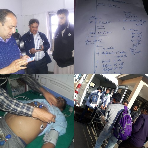 ABD NEWS 24x7 I Dr Masarat Iqbal Wani BMO Pattan Congratulate All My Doctors Paramedics For Carrying Out The First Ever Thrombolysis At Trauma Hospital